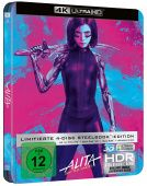 Алита: Боевой ангел 4K UHD (Blu-ray) Limited 4 disc Steelbook [Импорт]