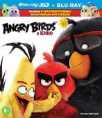Angry Birds в кино 3D + 2D (2 Blu-ray)